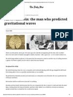 Albert Einstein_ the Man Who Predicted Gravitational Waves