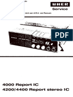 UHER Report Stereo IC Service Manual