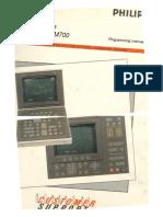 MAHO Philips 432 M700 Programming Manual