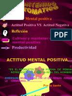 Diapositivas actitud positiva