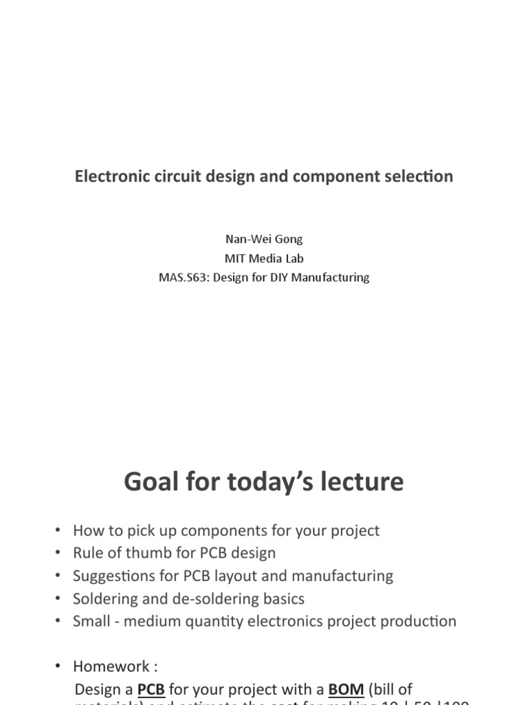 Electronic-circuit-design-and-component-selection.pdf | Printed ...