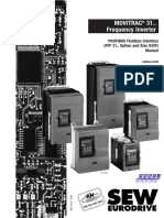 SEW PROFIBUS Fieldbus Interface Manual
