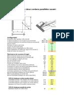 NC080625DP01 - Plat Soudé en T Par Deux Cordons Parallèles Soumis à Force Oblique
