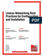 LENOVO NETWORKING BEST PRACTICES FOR CONFIGURATION AND INSTALLATION_SG248245.pdf