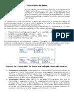 Transmisión de Información (Digital).