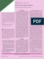 Artritis Septica Trtamiento the Pediatric Infectious Disease Journal JUN 2013
