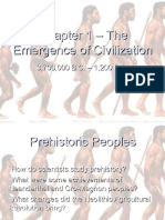 Early Humans and Civilization Notes