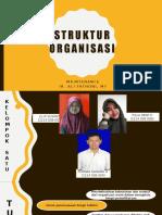 Struktur Organisasi Pemeliharaan