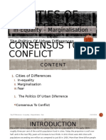 The Politics of Urban Differences