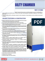 Tanco Lab Products - Stability Chamber