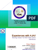 Experiences With AJAX
