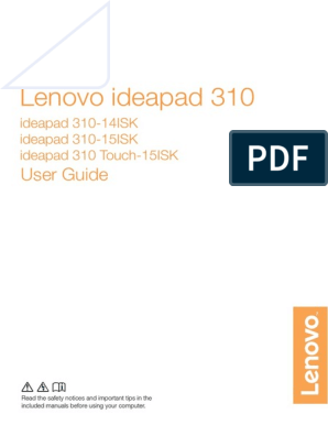 ideapad 310-15ISK | Secure Digital | Booting
