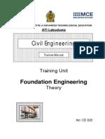 CE020 Foundation Engineering Th Tr