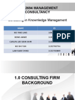 Bac 2694 Management Consultancy Knowledge Management