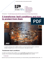 5 Transformer Fault Conditions and How to Protect From Them _ EEP