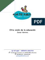 Otra Vision de La Educacion