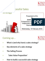 Build Sales Strategy