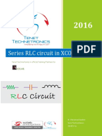 Series RLC Circuit in XCOS - Scilab