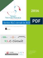 Series RLC Circuit in XCOS - Scilab