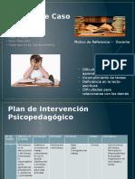Plan de Intervención Psicopedagógico