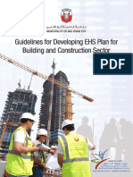 Guidelines for Developing EHS Plan for Building and Construction Sector - Abu Dhabi