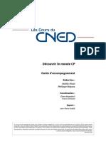 Cours CNED CP sciences experimentales et technologie