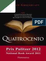 Stephen Greenblatt - Quattrocento