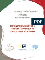 Posicionamento Sbd Sbem Sbn sobre doenças renais em diabéticos