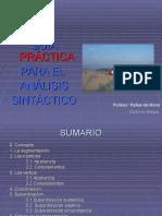 Guía Para El Análisis Sintáctico