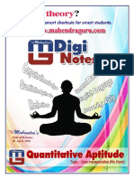 Digi Notes Maths April 1
