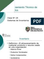 Clase 24 - Sistemas de Inventario (1)