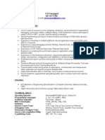 Jobswire.com Resume of sdvenugopal