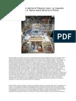 [ SCARICA ] Le architetture dipinte di Filippino Lippi La Cappella Carafa a S. Maria sopra Minerva in Roma PDF.pdf