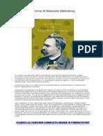[ SCARICA ] Le lacrime di Nietzsche (Biblioteca) PDF.pdf