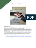 [ SCARICA ] Mille Primavere Vol 2. Per Sempre PDF