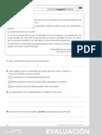 Evaluación inicial 4EP