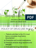 Drugs Used in Icu1 by Dr Parul