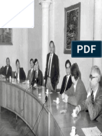 Gilead Sciences' Michael Riordan, Mick Hitchcock, Bill Lee, Norbert Bischofberger, John Martin,  meeting with Professor Antonín Holý and IOCB Colleagues in Prague Early 90s