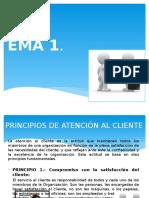 Clase 1 Principios de Atención Al Cliente