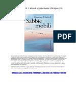 [ SCARICA ] Sabbie Mobili L'Arte Di Sopravvivere (Gli Specchi) PDF