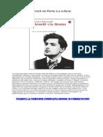 [ SCARICA ] Ricordi via Roma (La Cultura) PDF