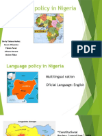 Language Policy in Nigeria