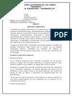Ensayo de Análisis Finaciero - Copia