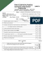 CE Test 1 BHA (Quiz and Test)