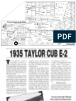 1935 Taylor Cub E-2 Plan and Article