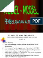 Model - Model Pelajaran Alternatif - Sofyan