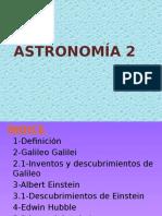 ASTRONOMÍA 2 2014