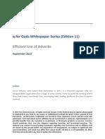 Advanced Q/KDB E11 Efficient Use of Adverbs