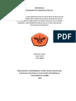 Contoh Proposal PTK Seni Budaya Kelas IV Sd 3