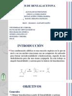 seminario benzalacetona